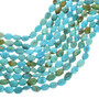 Blue Green Turquoise Nugget Beads 31930