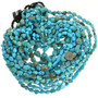 Turquoise Nugget Blue Kingman Beads 31933