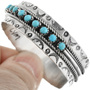 Sterling Silver Turquoise Bracelet 32111