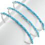 Zuni Tribe Silver Turquoise Bracelet 32114