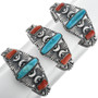 Navajo Made Turquoise Bracelet 32116