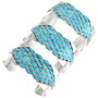Native American Turquoise Cuff Bracelet 32123