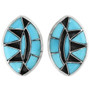 Native American Turquoise Earrings 32139