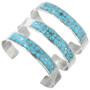 Zuni Artist Gloria Tucson Turquoise Bracelets 32158