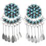 Native American Turquoise Earrings 32216