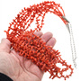 Branch Coral Heishi Necklace 32349