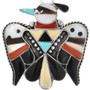 Native American Thunderbird Pendant 32369