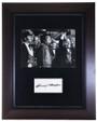 Vintage Framed Harry Morgan Autograph 32399