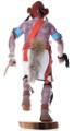 Native American Mudhead Kachina Doll 32450