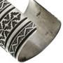 Navajo Hammered Silver Cuff 32493