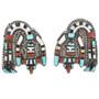 Rainbow Man Earrings