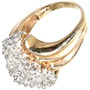 10K Yellow Gold Ring 32503