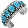 Vintage Robert Bernice Leekya Turquoise Bracelet 32532