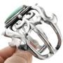 Sterling Silver Tufa Cast Bracelet 32542