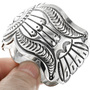Native American Sterling Silver Bracelet 32545