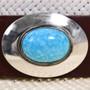 Navajo Made Turquoise Cowboy Hat Band 32546