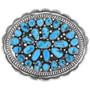 Sleeping Beauty Turquoise Belt Buckle 32591