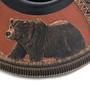 Bear Design Navajo Pottery 32621