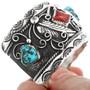 Kingman Turquoise Navajo Cuff Bracelet 32631