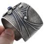 Navajo Tufa Cast Dragonfly Lapis Bracelet 32676