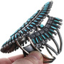 Sleeping Beauty Turquoise Zuni Bracelet 32805