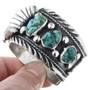 Native American Navajo Turquoise Watch Bracelet 32810