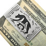 Navajo Overlay Walking Bear Money Clip 32819