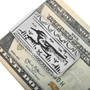 Silver Roadrunner Navajo Money Clip 32825
