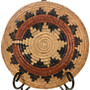 1950s Navajo Wedding Basket Tray 32706