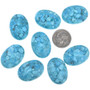 Sky Blue Turquoise Cabochons 32718