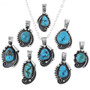 Native American Turquoise Pendants 32880
