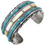 Old Pawn Turquoise Heishi Bracelet 32903