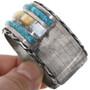 Navajo Shell Turquoise Cuff Bracelet 32903