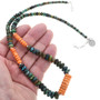 Navajo Turquoise Shell Necklace 32970