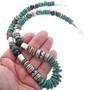 Sterling Gemstones Shell Necklace 32993