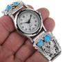 Mens Watch With Traditional Sterling Tips 33030