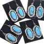 Sterling Dangle French Hook Earrings 33046