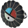 Sunface Squash Blossom Ring 33060