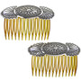 Sterling Hair Comb