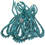 Genuine Blue Green Turquoise Necklace Beads 31958