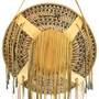 Leather Wrapped Apache Burden Basket 33096