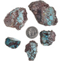Natural Real Bisbee Turquoise 32728