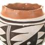 Ruffle Rim Design Acoma Pottery 33122