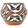 Hand Painted Acoma Polychrome Olla 33125