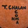 Acoma Artist Terrance Chalen Pottery Signed 33127