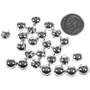 Sterling Silver Seam Beads 32743