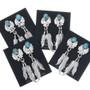 Native American Turquoise Earrings 33161