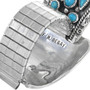 Navajo Francis Begay Turquoise Watch Artist Signed 33201