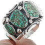Navajo Alice Benally Turquoise Mens Watch 33203