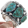 Green-Blue Turquoise Watch Bracelet 33203